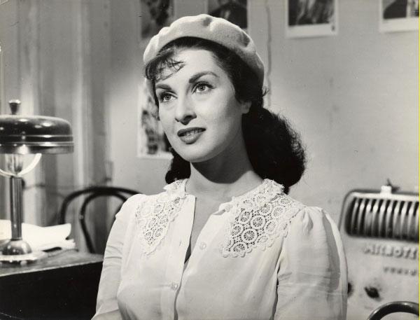 Silvana Pampanini Anna Wearing A Beret Zsr Library