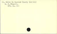Co. Kirke In Haywood County (sketch)