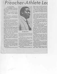 Dawson, Lin (N.C. Negro Baptists- Pastors)