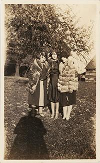 Women in fur jackets